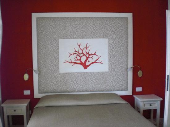 Hotel Corallo : bed