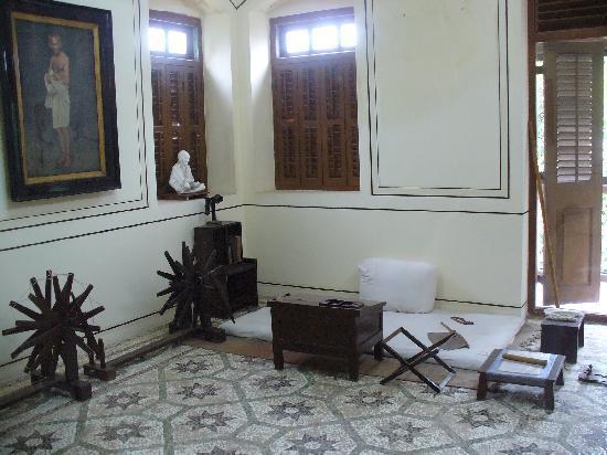 พิพิธภัณฑ์มนีภวันคานธี: Gandhis Zimmer