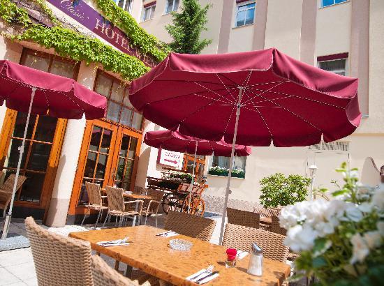 Austria Classic Hotel Wien: Frühstücksterrasse / Breakfast terrace