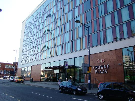Crowne Plaza Manchester City Centre Hotel Facade And Main