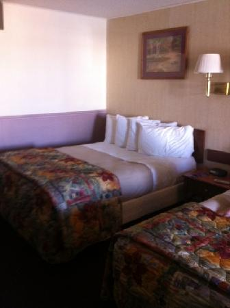 America's Best Value Inn: Double-bedded Room