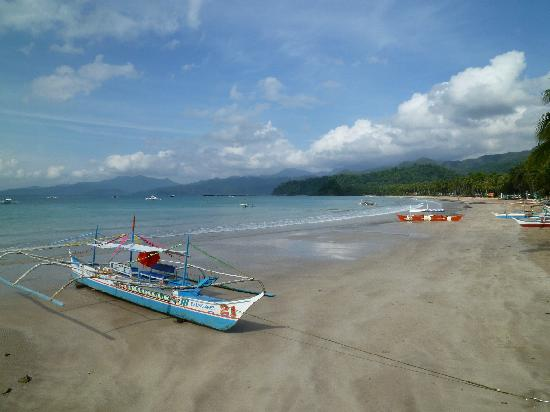 Green Verde Resort Inn: View from the pier in Sabang