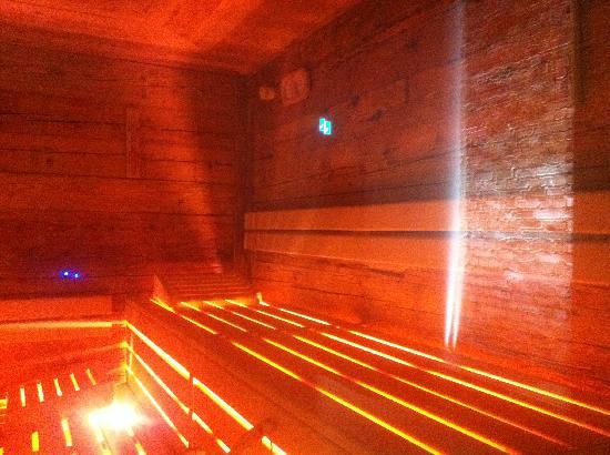 Steigenberger Grandhotel Handelshof: hot sauna