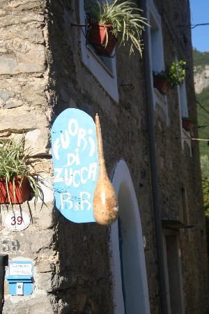 Castelbianco, Italia: fuori di zucca
