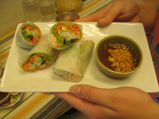 3rd street cafe & Guesthouse: Summer Rolls