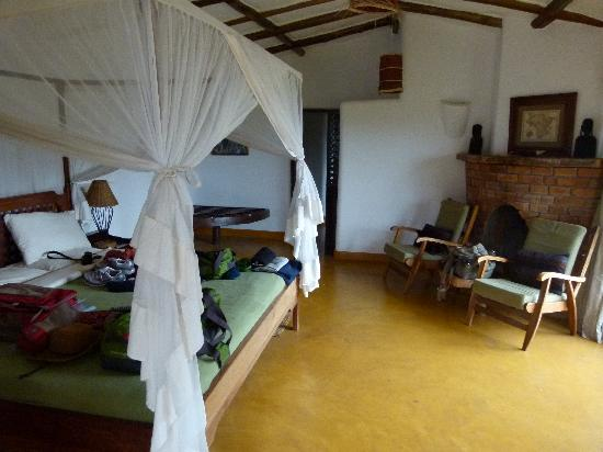 Kigongoni Lodge: Interior of Room 1