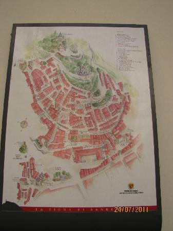 Map of La Pigna di Sanremo Picture of La Pigna Sanremo TripAdvisor