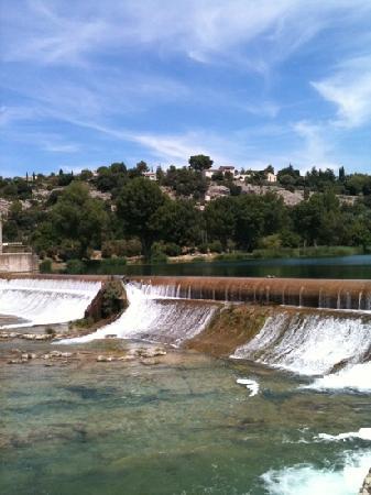 Greoux les Bains, فرنسا: le barrage