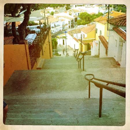 Hotel Terramar: The stairs