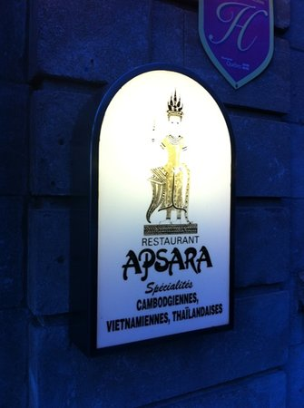 Restaurant Apsara: logo