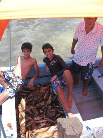 Hotel Villa de Pescadores: good fishing!!!!