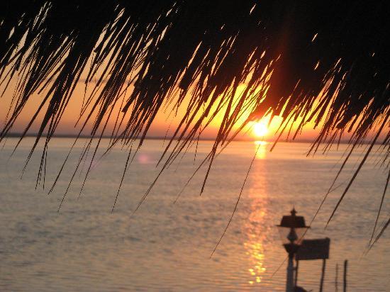 Hotel Villa de Pescadores: enjoying the sunrise!!!!