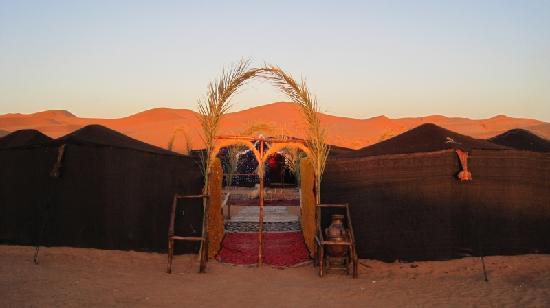 Le Chevalier Solitaire: Il nostro bivacco nel deserto