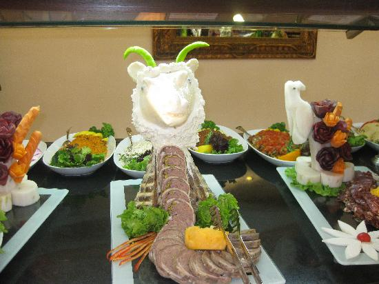 Delphin Palace Hotel: Example of Food Choice