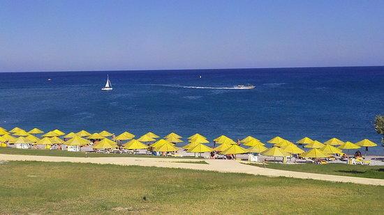 Kolymbia Beach Hotel: vista ristorante