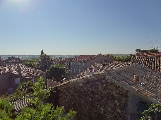 Le Saint Andre : View from our bedroom window