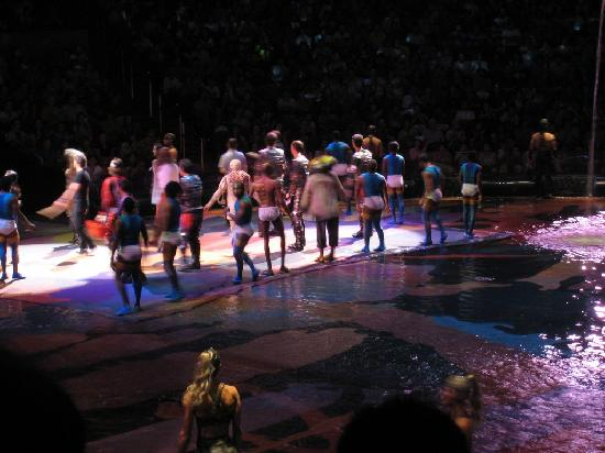 The House Of Dancing Water Curtain Call