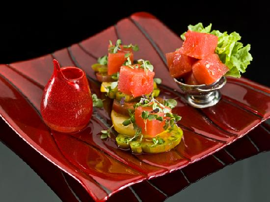 Prelude by Barton G. : Tomato Watermelon Salad
