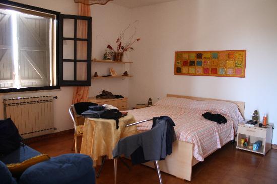Belvedere sul Mare : Camera arancio