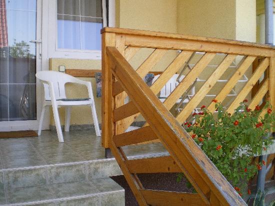 Erika Pension & Apartments: Our terrace