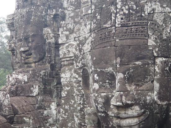 Sofitel Angkor Phokeethra Golf and Spa Resort: The Bayon temple