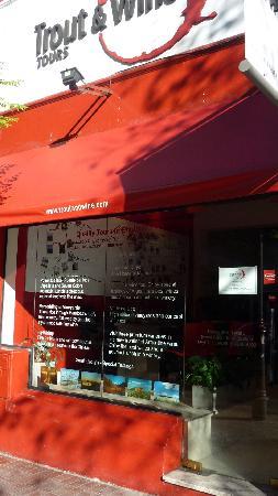 Trout & Wine Tours: Trout & Wine office