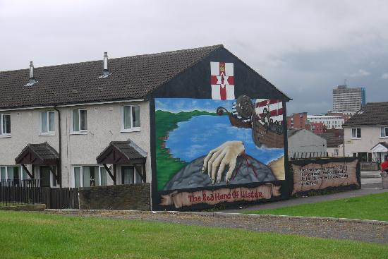 Shankill Road: Another mural