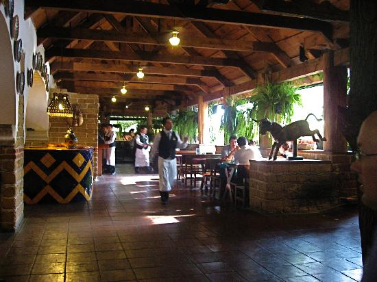 Hacienda Real: The atmosphere