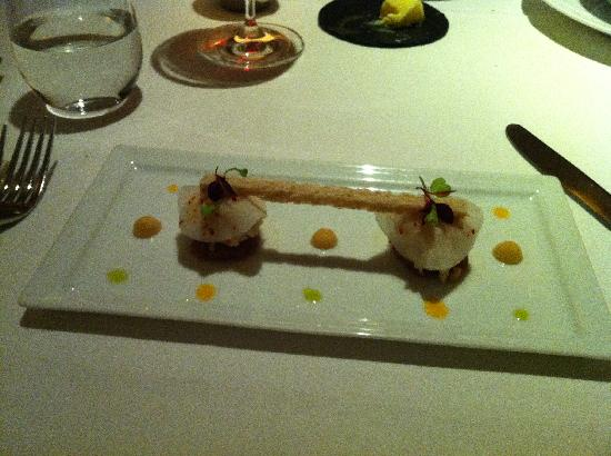 Tartare of Veal with Crab and Radish