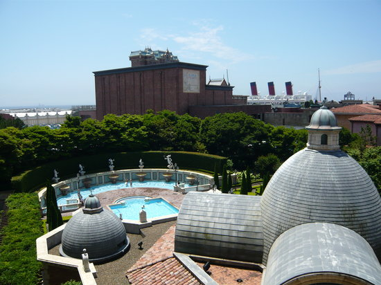 Tokyo DisneySea Hotel MiraCosta: view from our room