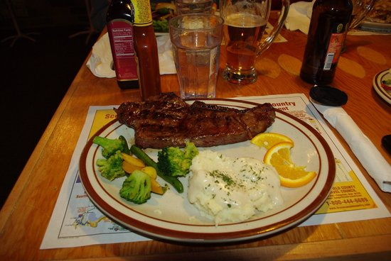 Bryce - Foster's Family Steak House - meal 1