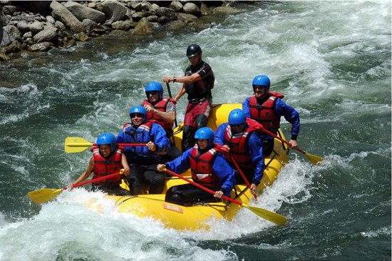 Aspen Whitewater Rafting: Numbers section of AK River