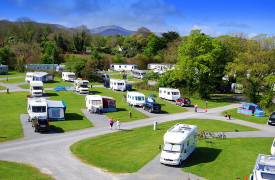 Woodlands Caravan Park Tralee Ireland Campground