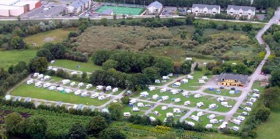 Woodlands Caravan Park: Aeriel Photo