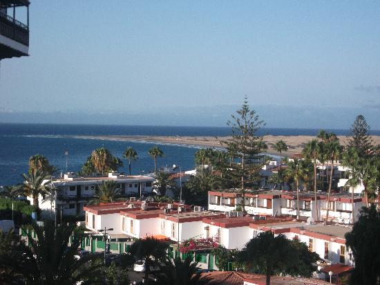 IFA Continental Hotel: Balcony View of beach & Sand Dunes