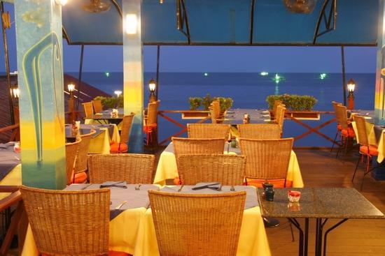 Brasserie de Paris: sea view