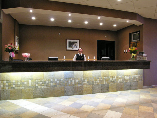 Fort McMurray, Canada: Front Desk