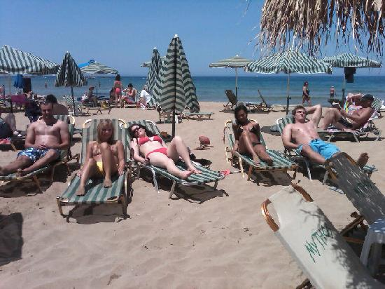 Stalis, Greece: beach babes