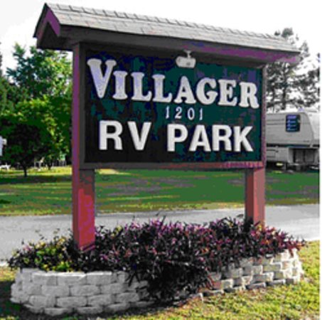 Villager RV Park: Our Park Sign