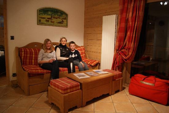 Résidence CGH Les Fermes de Sainte Foy : Salon