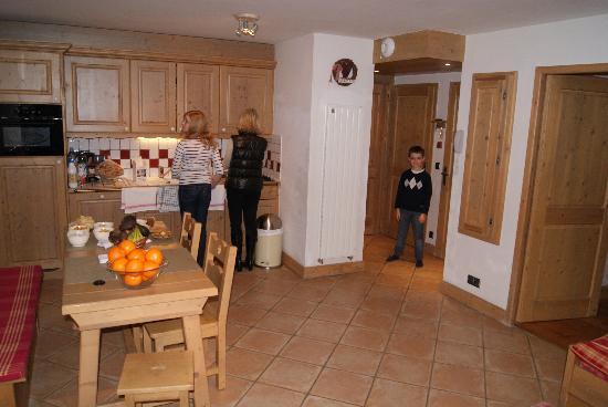 Résidence CGH Les Fermes de Sainte Foy : La salle à manger
