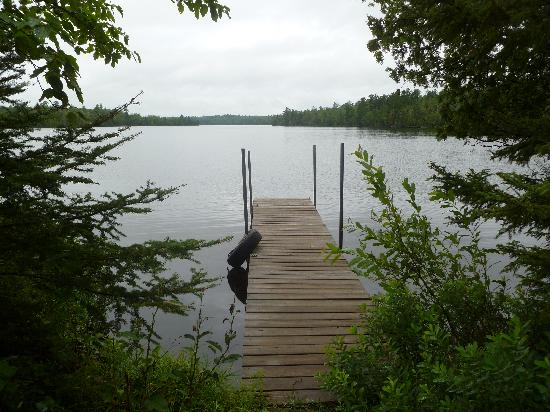 Northernair Lodge: Beautiful view from Cabin 10's dock