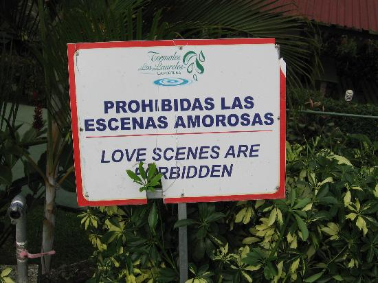 Termales Los Laureles: A family-friendly place: no making out allowed!