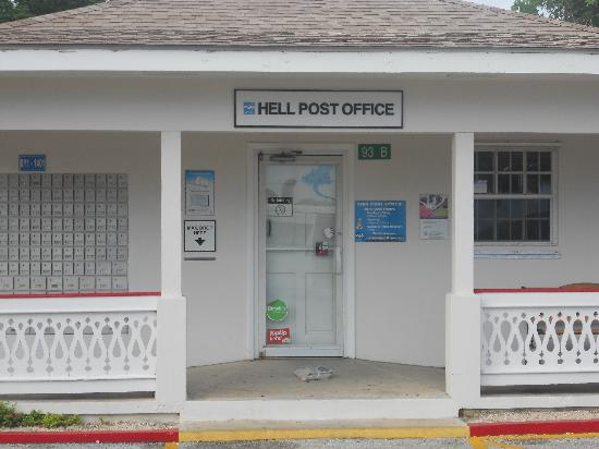 Hell Post Office Picture Of Hell Grand Cayman Tripadvisor