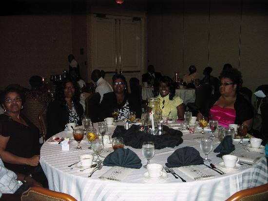 Crowne Plaza Houston - Brookhollow: Social Work Graduates and Family