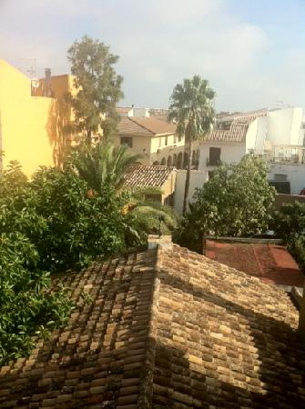 Hotel Nou Roma: view from rooftop terrace