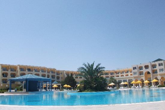 Ramada Plaza Tunis : view from deck chair