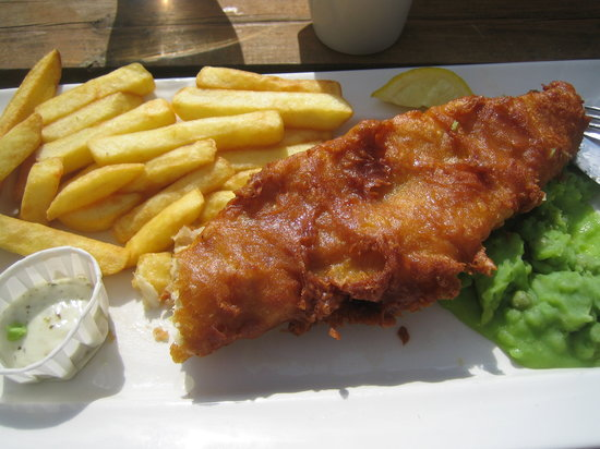 The Wye Bridge House: Fish & Chips
