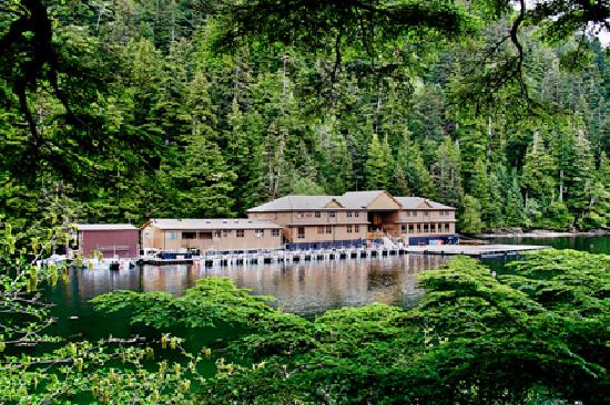 Haida Gwaii (Queen Charlotte Islands), Canadá: The Lodge at Hippa Island