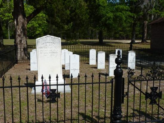 Rivers Bridge State Historic Site: Confederate Cemetary